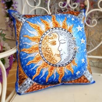 """Подушка """"Солнце и Луна"""""""