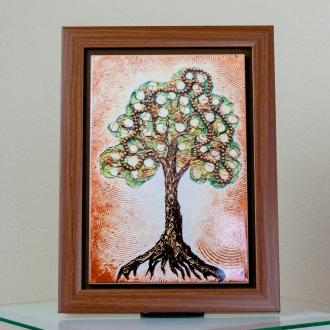 """Керамика. Репродукция картины """"Денежное дерево"""""""
