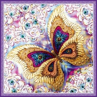 "Шелковый Платок - символ ""Бабочка"""